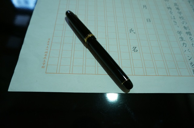 なりきり康成万年筆DSC02690
