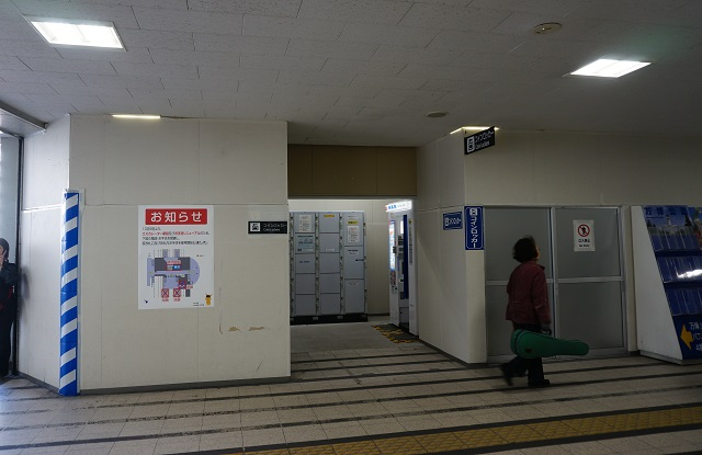 JR茨木西側にコインロッカーDSC0187311月11日