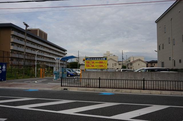 JR茨木駅南駐車場全景DSC00812