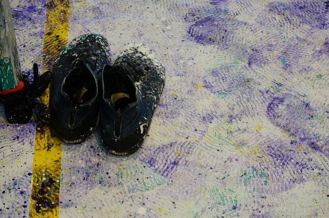 HUBIBARAKIで中島さんの靴DSC03702