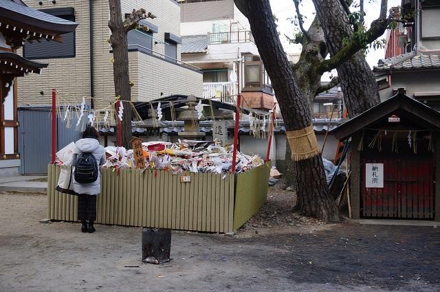 茨木神社の納札所DSC03057
