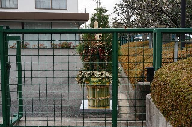 日東電工前の門松DSC03162