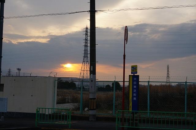 太田東芝町バス停DSC03903