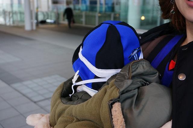 ガンバ大阪サポーター赤ちゃんDSC04369