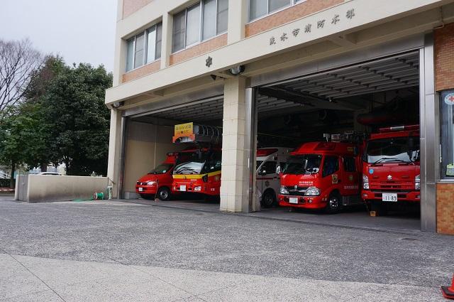 茨木消防署の消防車DSC04853
