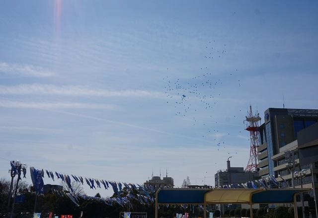 青い鯉のぼりプロジェクトの風船DSC04858