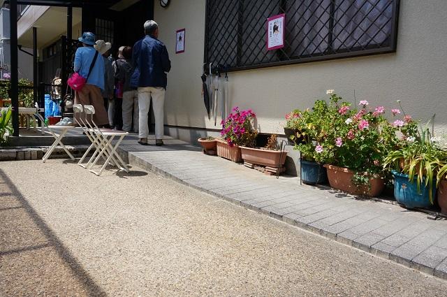 春日寄席丹羽さん宅玄関DSC05659