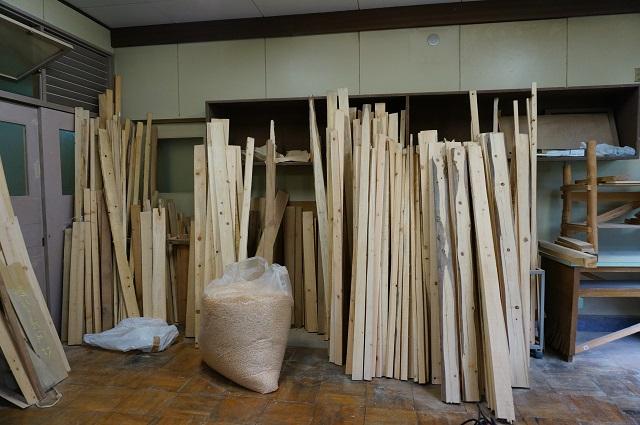茨木里山センターの木が整えられている場所DSC05086