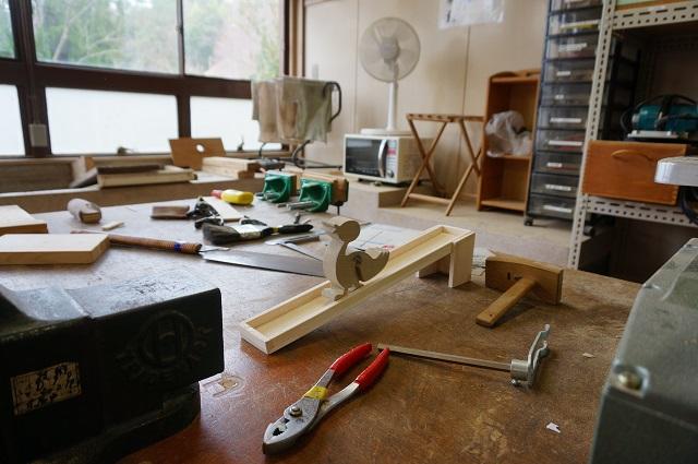 茨木里山センターでおもちゃ作りDSC05094