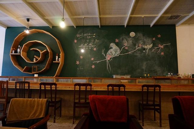 ツミキ食堂のカウンターDSC05545