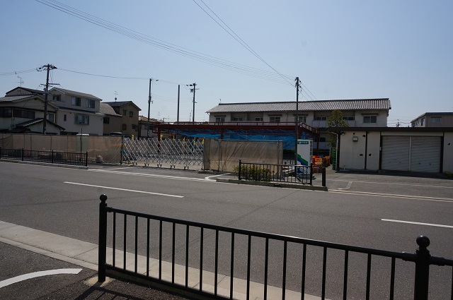 太田幼稚園そばの工事DSC05809