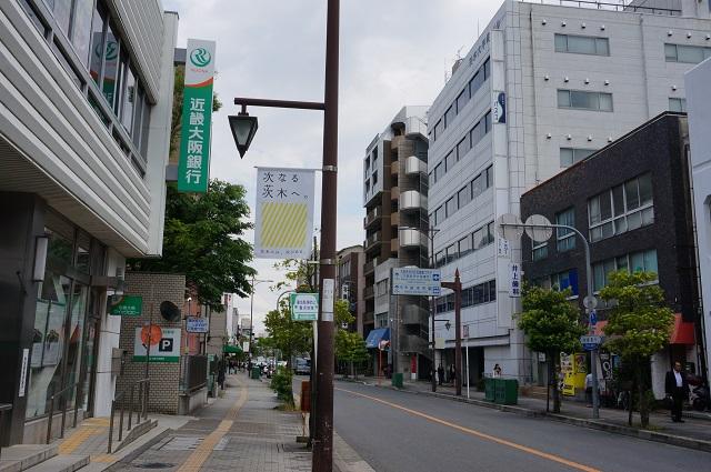 中央通りで次なる茨木フラッグDSC05927