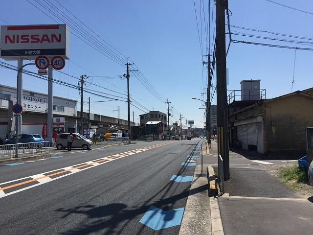 1日産大阪の方からど真ん中へIMG_6486