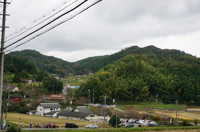 見山の郷を神社から見るDSC01450
