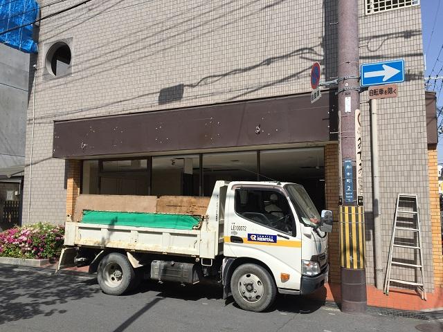 セブンイレブン舟木町閉店工事IMG_6879