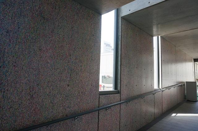 ハブイバラキ市役所渡り廊下壁南館からDSC05834