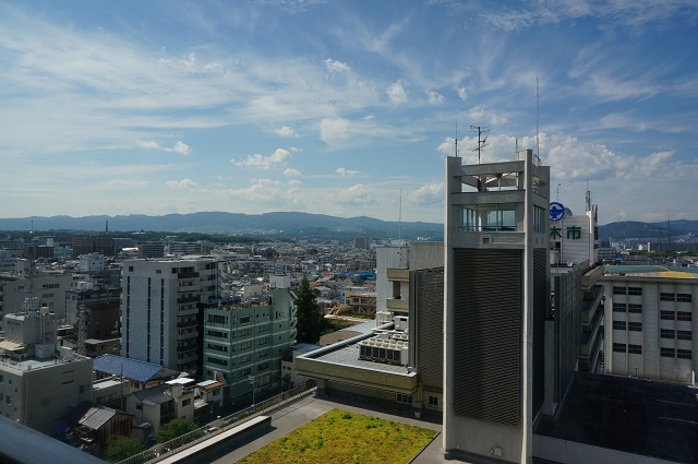 市役所9階からの景色DSC06632