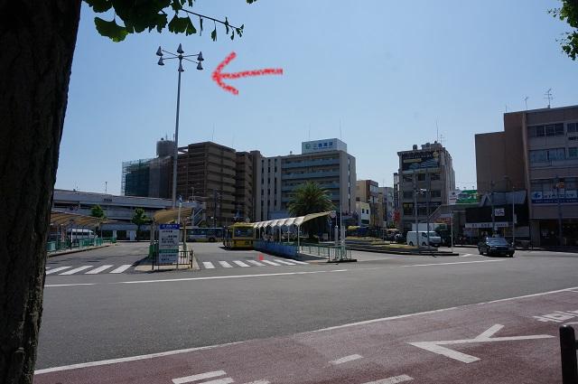 阪急バスのところの照明DSC06282