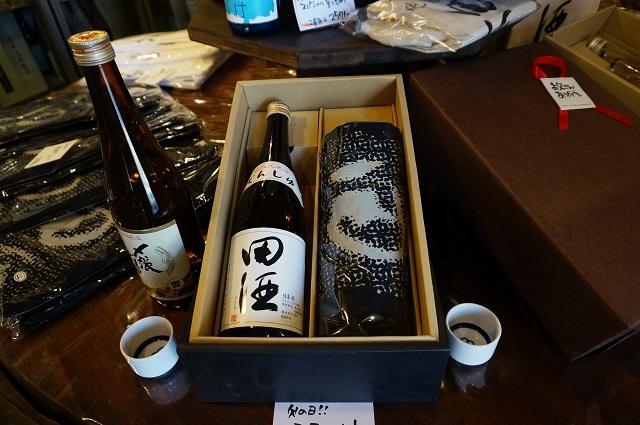 かどや酒店田酒セットDSC06850