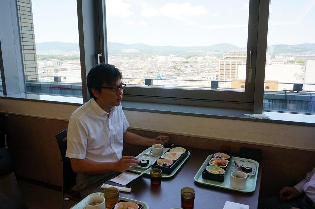 614康成ランチで茨木市長DSC06887