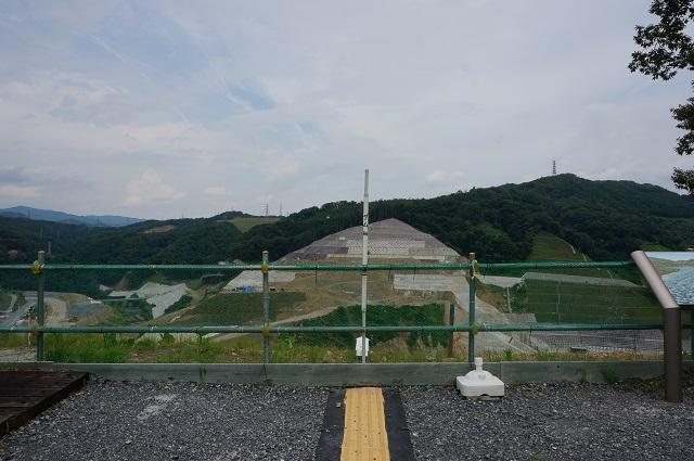 0717安威川ダムのダム中心DSC07832