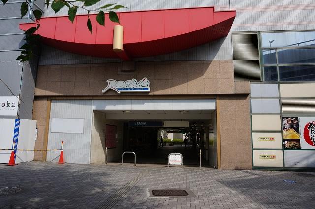 阪急茨木市駅西側からDSC07647