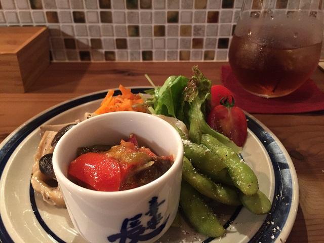 コモドキッチン前菜盛り合わせIMG_8003