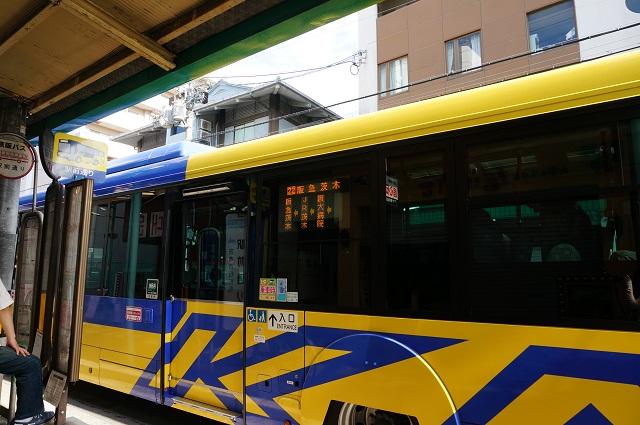 子ども教室ポポ前にバス停DSC08322