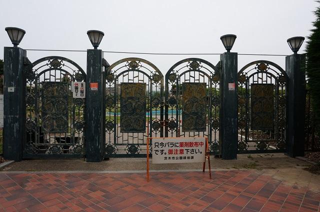 若園公園バラ公園お休み1DSC07077