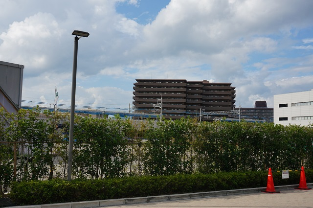 JR総持寺工事現場2DSC08378