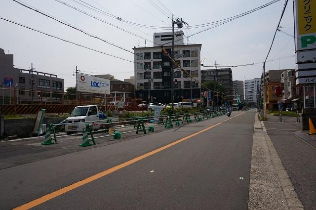 総持寺阪急からの道路工事DSC06608