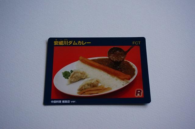 雁飯店ダムカレーカードDSC08607