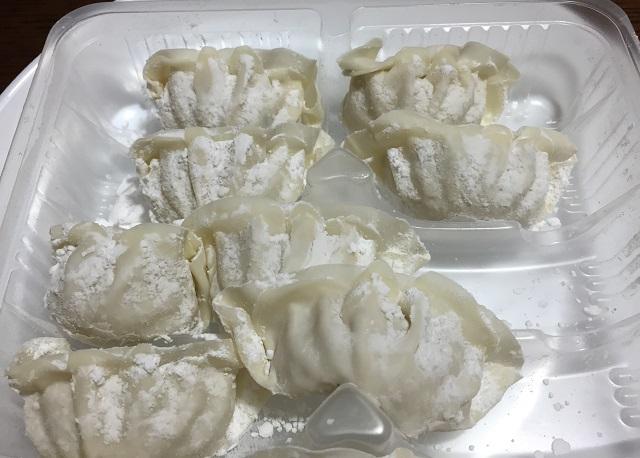 ぎょうざの丸岡の餃子IMG_9158