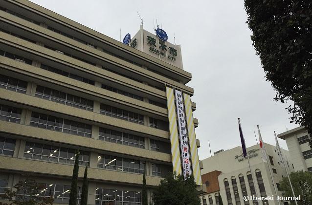 期日前投票の茨木市役所IMG_9666