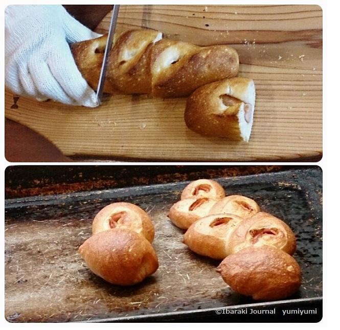 モンアミさん焼き立てパンウィンナーとエピ