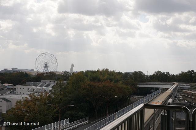 モノレール阪大病院前からの景色DSC09258