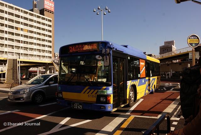 JR茨木から阪大病院へのバスDSC00178