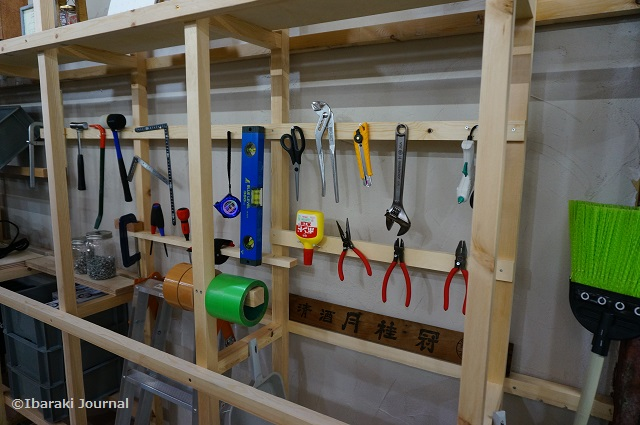 リノベいばらきDIY工房の道具たち