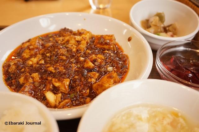 たけの黒マーボー豆腐ランチDSC01052