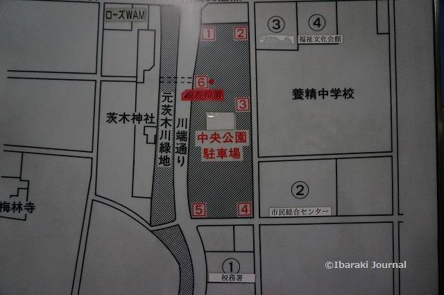 中央公園駐車場見取り図DSC01143