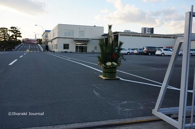 吉野工業所の門松の風景DSC00927