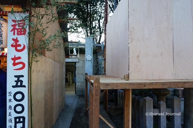 茨木神社から駐車場のほうDSC01139