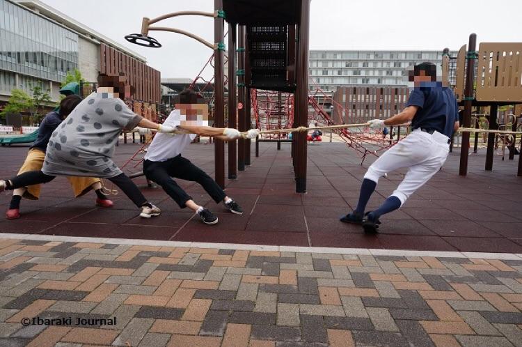 2017年6月綱引き茨木遊び