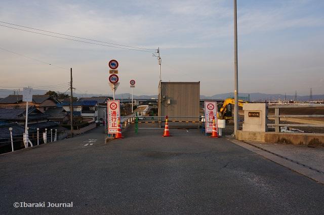 あけぼの橋の通行止めのほうDSC01369