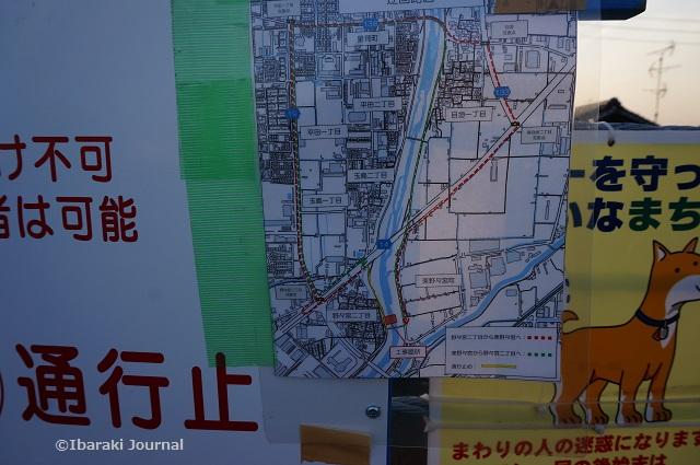 あけぼの橋そばの案内図DSC01353