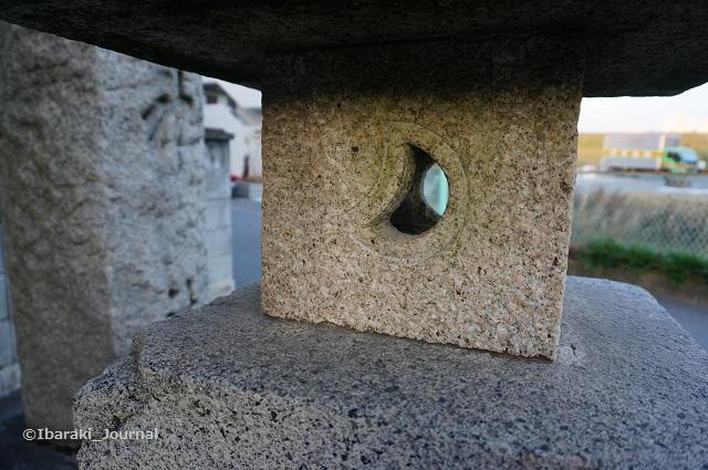 野々宮の天神社燈籠のアップDSC01386