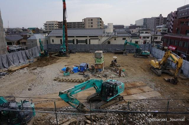 JR茨木から元ニッショー阪急オアシス工事の場所DSC01865