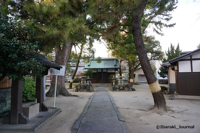 野々宮の天神社拝殿DSC01373