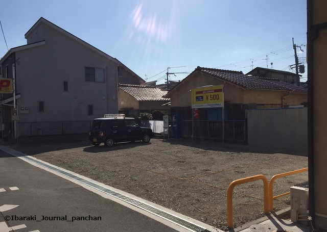 5JR総持寺に近い駐車場IMG_6469