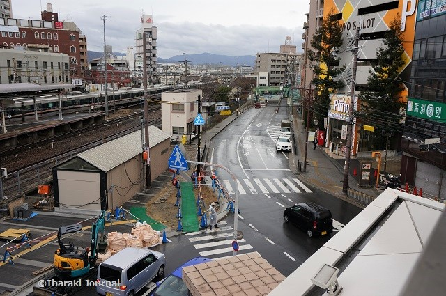 JR茨木東の信号を上からDSC01891